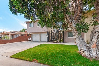 San Diego Attached For Sale: 4524 Wilson #204