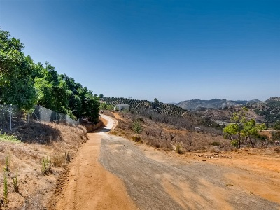 Valley Center Residential Lots & Land For Sale: 5 Acres Ridge Creek Rd #3