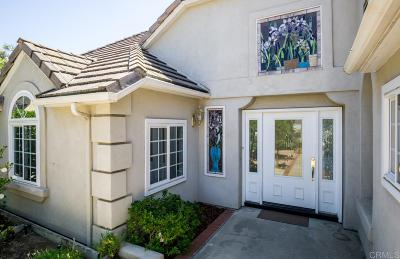 San Marcos CA Single Family Home For Sale: $895,000