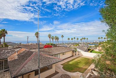 La Jolla Single Family Home For Sale: 6411 Avenida Manana