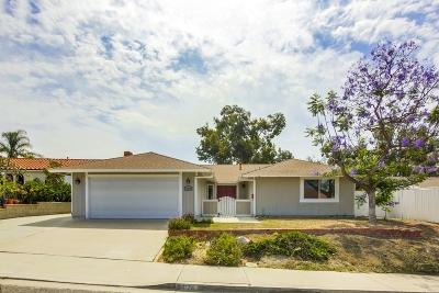 Chula Vista CA Single Family Home For Sale: $549,900