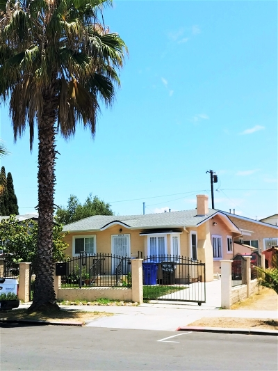 San Diego Multi Family 2-4 For Sale: 4045-4047 Swift Ave