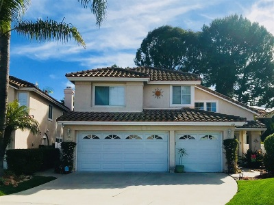 Oceanside Single Family Home For Sale: 681 Mosaic Circle