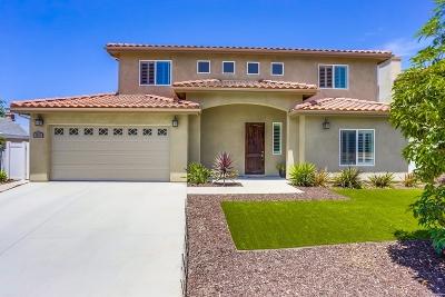 Oceanside CA Single Family Home For Sale: $709,000