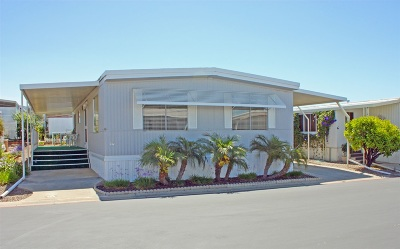 San Diego County Mobile/Manufactured For Sale: 1506 Oak Dr. #65