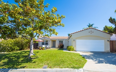 Vista CA Single Family Home For Sale: $449,000