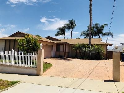 Oceanside CA Single Family Home For Sale: $530,000