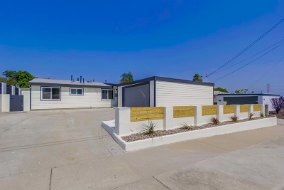 San Diego Single Family Home For Sale: 2507 Monette Dr