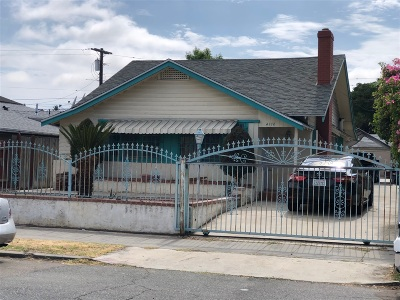 San Diego Multi Family 2-4 For Sale: 4178-82 Highland Ave.