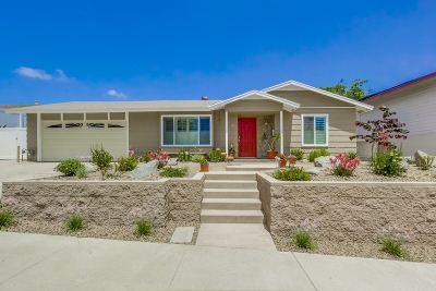 Chula Vista CA Single Family Home For Sale: $615,000