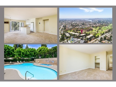 San Diego County Attached For Sale: 7838 Cowles Mountain Court #C17