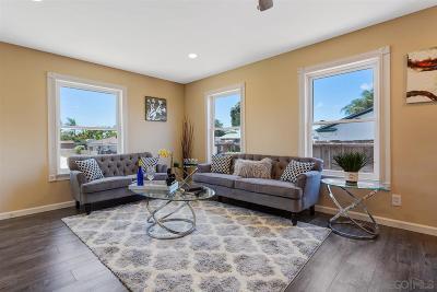 San Diego Single Family Home For Sale: 5882 Schuyler St