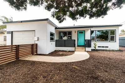 San Diego County Multi Family 2-4 For Sale: 1205-9 Grove Ave