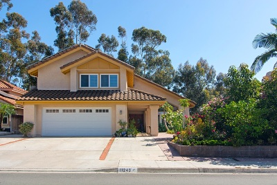 San Diego Single Family Home For Sale: 11243 Alejo Lane
