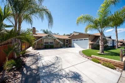 San Diego County Single Family Home For Sale: 1609 San Altos Pl