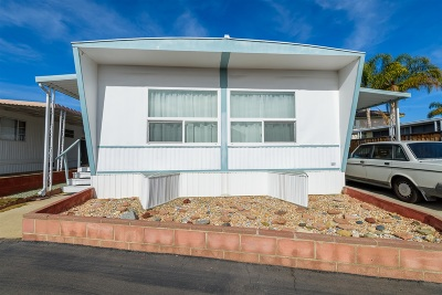 San Diego County Mobile/Manufactured For Sale: 313 Killdeer Ln