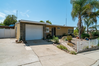 San Diego Single Family Home For Sale: 3238 54th Street