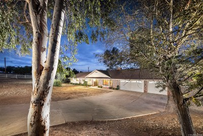 Valley Center Single Family Home For Sale: 31430 Oak Glen Road
