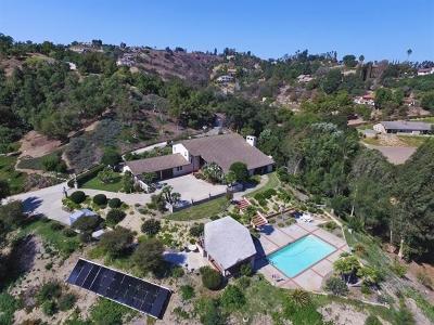 Single Family Home For Sale: 2365 Palo Vista Rd