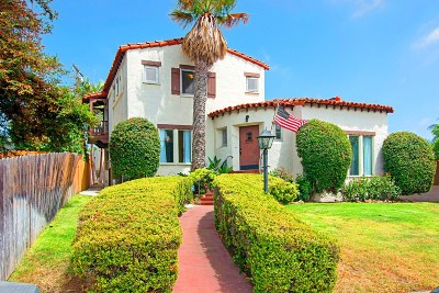 San Diego Single Family Home For Sale: 2301 Palermo Drive