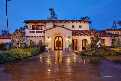 Rancho Santa Fe Rental For Rent: 5856 Lago Lindo