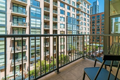 San Diego County Attached For Sale: 530 K Street #508