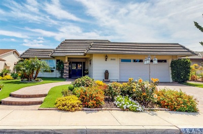 San Diego Single Family Home For Sale: 16455 Gabarda Rd