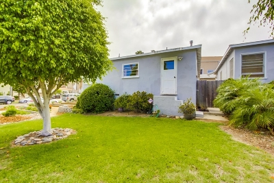 Pacific Beach Rental For Rent: Morrell St.
