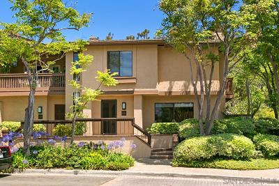 Fashion Valley, Mission Valley Townhouse For Sale: 6024 Gaines Street