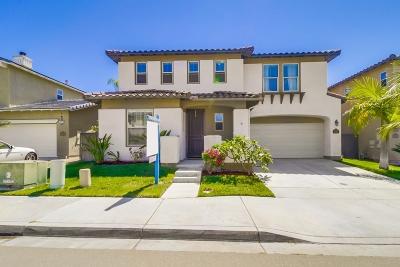 Chula Vista CA Single Family Home For Sale: $559,900