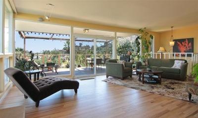 La Mesa Single Family Home For Sale: 9437 Alto Dr.