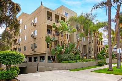 San Diego Attached For Sale: 4077 3rd Ave #306