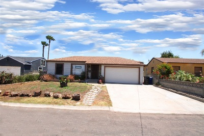 Chula Vista Single Family Home For Sale: 139 Elder Ave