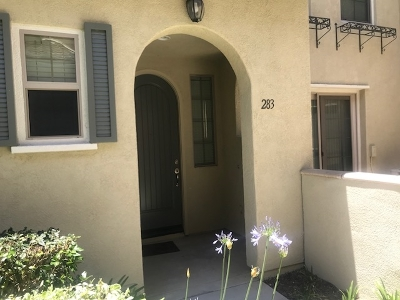 San Marcos Townhouse For Sale: 283 Marquette Ave