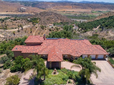 Fallbrook Single Family Home For Sale: 3652 Monserate Hill Ct