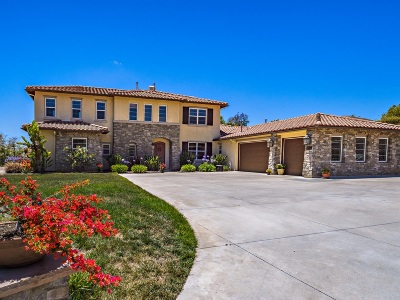 Bonsall Single Family Home For Sale: 1210 Clos Duval
