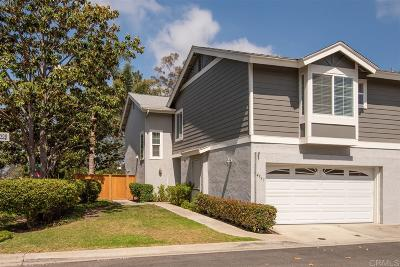 Carlsbad Townhouse For Sale: 4537 Hartford Pl