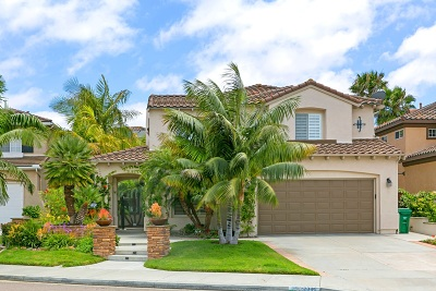Carlsbad Single Family Home For Sale: 2941 Avenida Castana