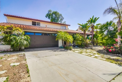 Single Family Home For Sale: 3836 Corral Canyon Rd