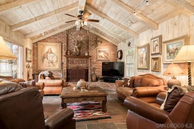 San Diego County Single Family Home For Sale: 5644 Dehesa Rd.
