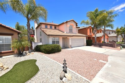 Rancho Del Rey Single Family Home For Sale: 1075 Camino Del Rey
