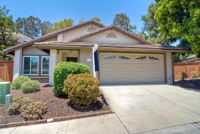 Escondido Single Family Home For Sale: 1670 Madrone Gln