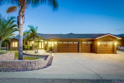 San Diego County Single Family Home For Sale: 9858 Dunbar Ln