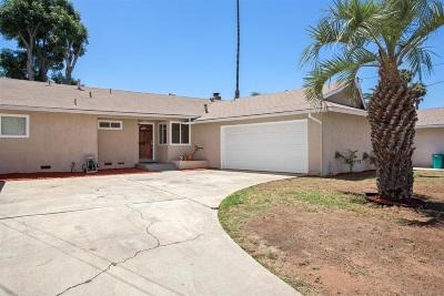 Escondido Single Family Home For Sale: 1135 Alta Vista Ave