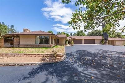 Single Family Home For Sale: 810 Palomino Rd