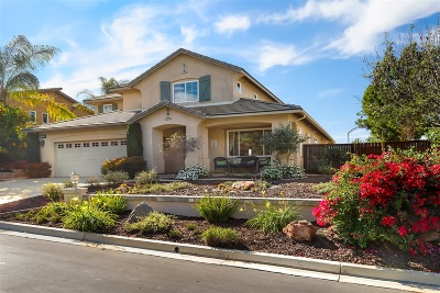 Escondido Single Family Home For Sale: 10538 Aspen Gln