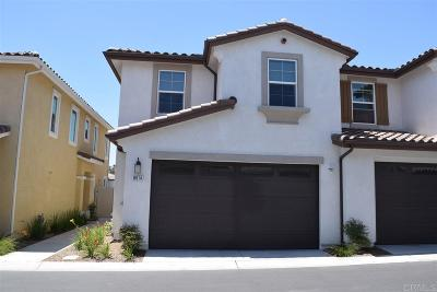 San Diego County Townhouse For Sale: 8614 Sage Shadow