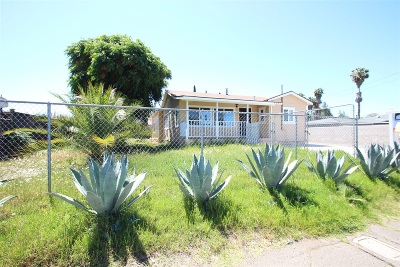 San Diego County Single Family Home For Sale: 1041 E Lincoln Avenue