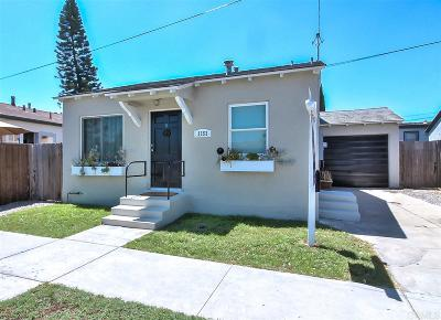 San Diego Single Family Home For Sale: 3553 Monroe Ave