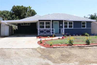 Single Family Home For Sale: 8127 Golden Avenue